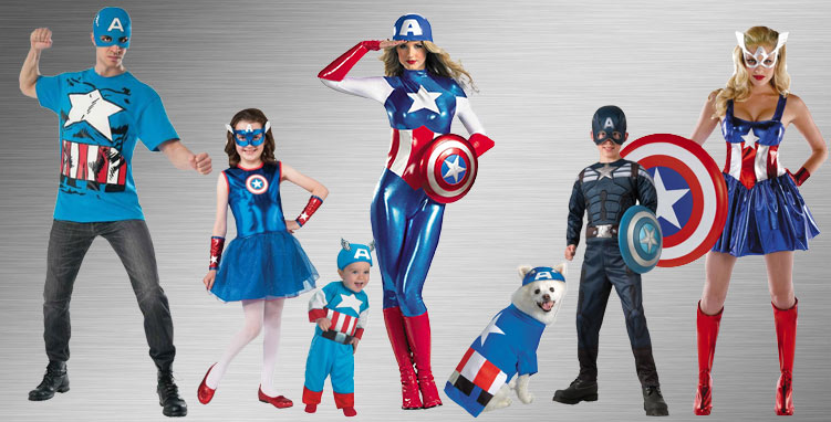 Captain America Costume Ideas