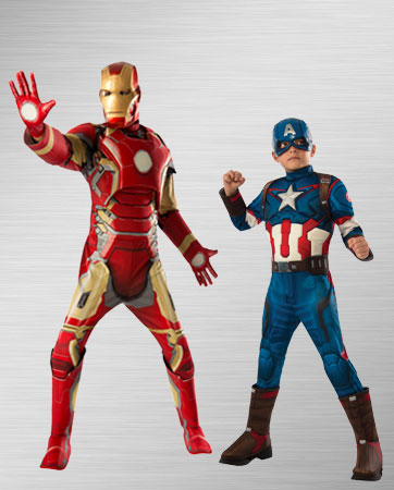 Captain America and Iron Man Costume Ideas