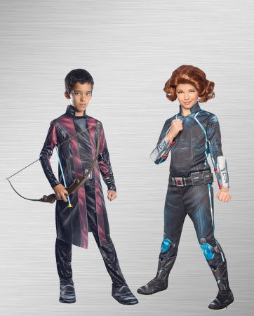 Black Widow and Hawkeye Costume Ideas