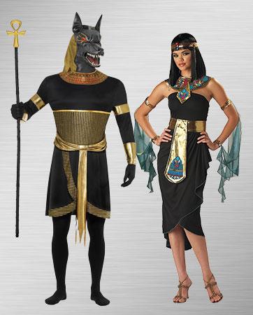Cleopatra and Anubis Costume Ideas
