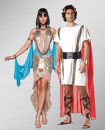 Cleopatra and Marc Antony Costume Ideas