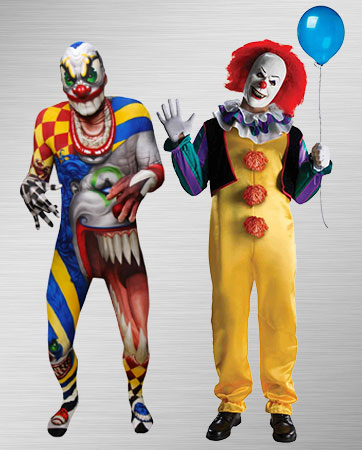 Pennywise and Creepy Clown Costume Ideas  sc 1 st  BuyCostumes.com & Clown and Circus Costumes - Adults and Kids Halloween Costumes ...