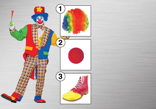 Clown Costume Accessories