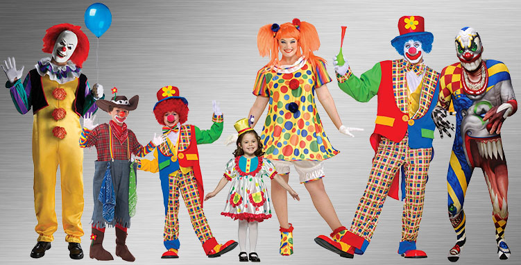 Clown & Circus Costume Ideas