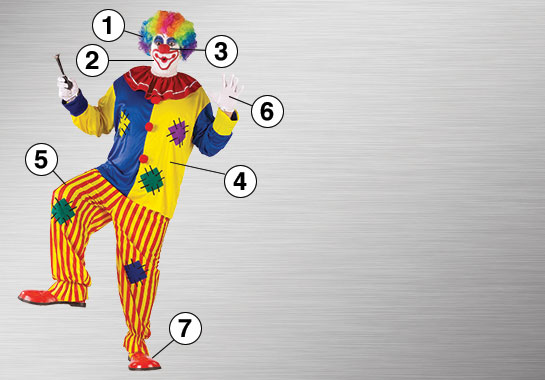 Clown Ultimate Costume