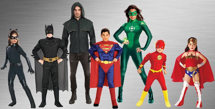 Superman Group Costume Ideas