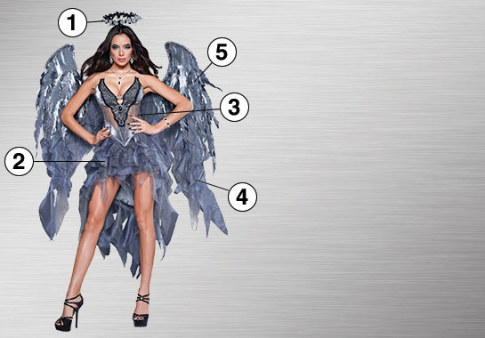 Ultimate Dark Angel Costume