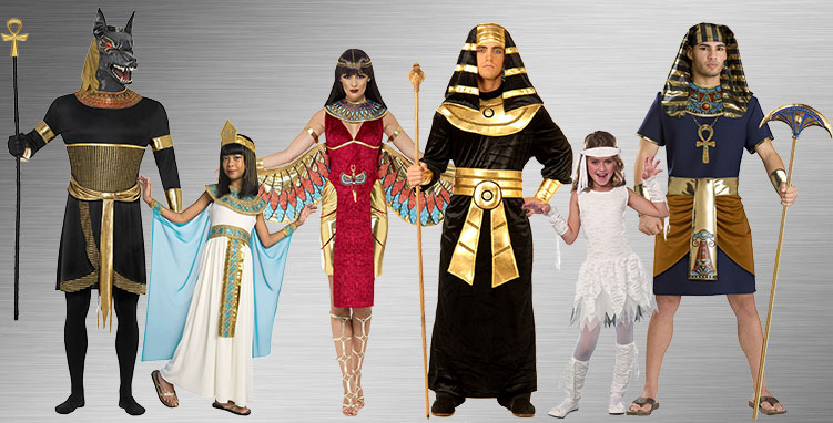 Cleopatra Group Costume Ideas