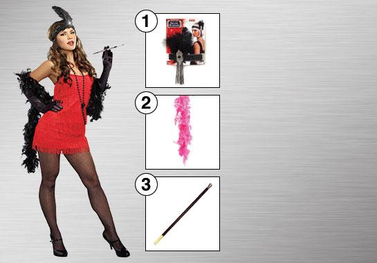 Flapper Costume Accessories
