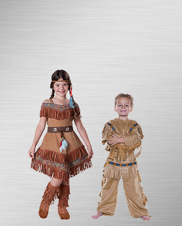 Pocahontas Girl and Warrior Boy Costume Ideas  sc 1 st  BuyCostumes.com & Pocahontas Costumes - Halloween Costumes | BuyCostumes.com