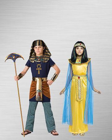 Cleopatra Girl and Pharaoh Boy