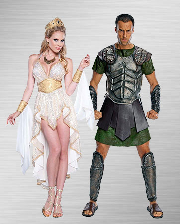 Goddess and Perseus Costume Ideas