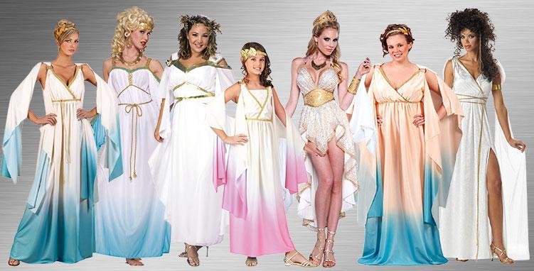 Goddesses Costume Ideas