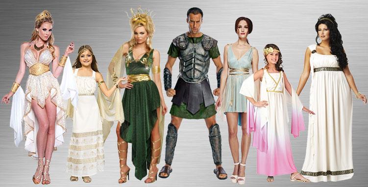 Goddess Group Costume Ideas
