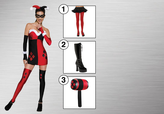 Harley Quinn Costume Accessories