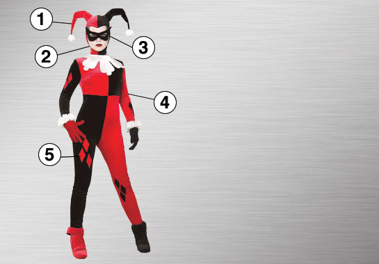 Harley Quinn Costume Essential Features