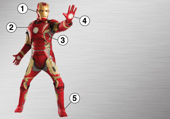 Iron Man Ultimate Costume