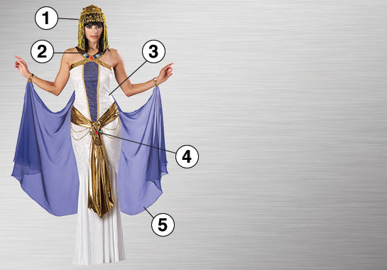 Jewel of the Nile Ultimate Costume