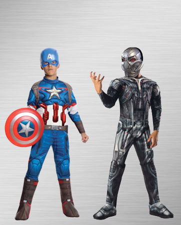 Captain America and Ultron Costume Ideas