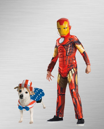 Iron Man and Patriot
