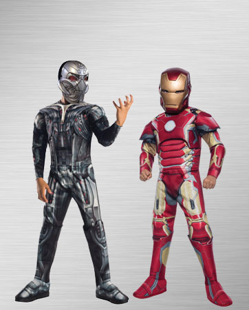 Iron Man and Ultron Costume Ideas