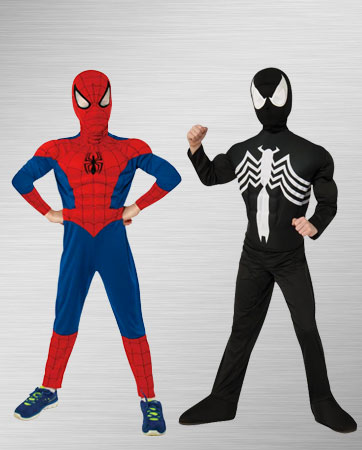 Spider-man and Black Spider-man Costume Ideas
