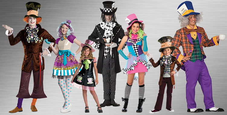 Mad Hatter Group Costume Ideas