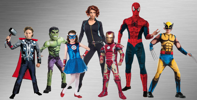 Spider-man Group Costume Ideas