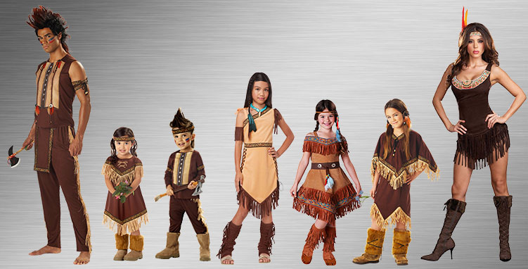 Pocahontas Group Costume Ideas