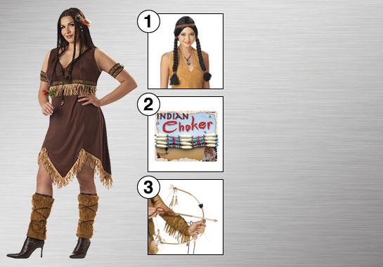 Pocahontas Costume Accessories