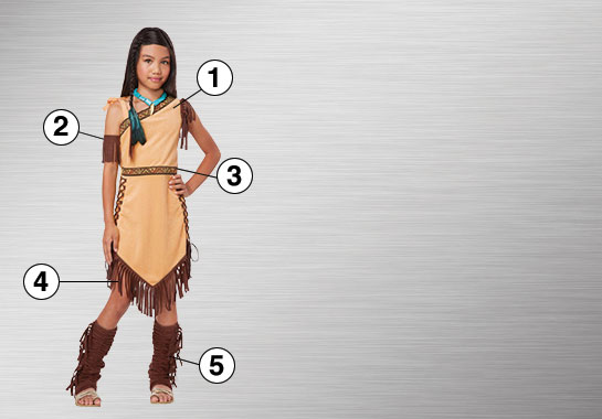 Pocahontas Ultimate Costume