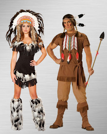 Pocahontas and Indian Warrior Costume Ideas