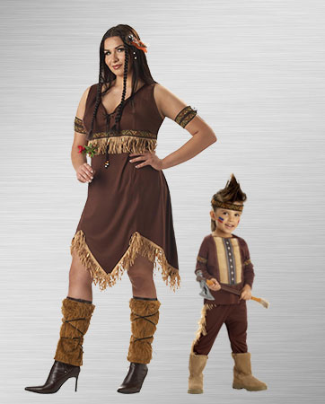 Pocahontas and Native American Infant Costume Ideas