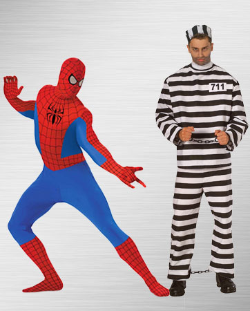 Spider-man and Convict Costume Ideas