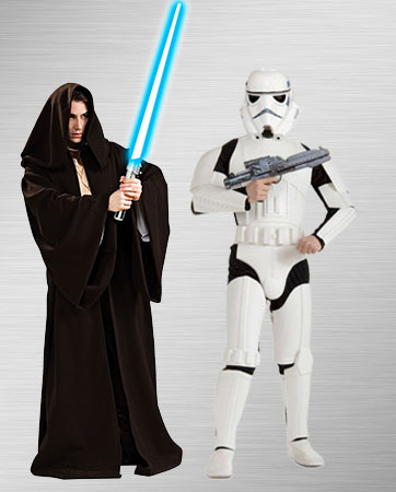 Female Stormtrooper and Jedi Costume Ideas