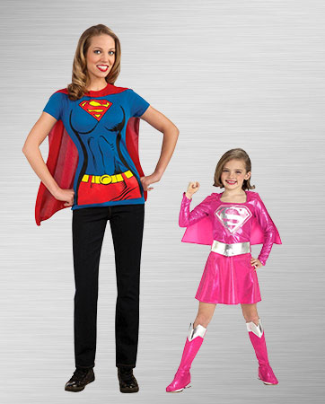 Adult and Child Supergirl Costume Ideas