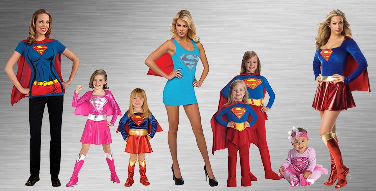 Supergirl Costume Ideas