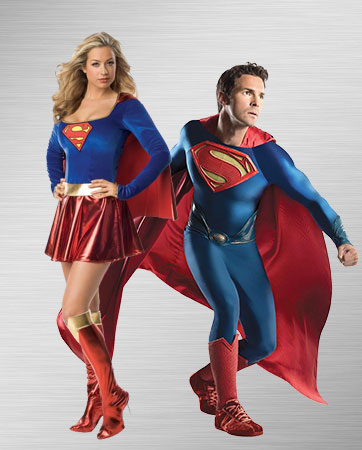 Supergirl and Superman Costume Ideas