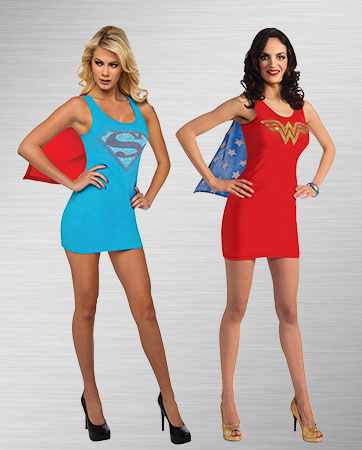 Supergirl and Wonder Woman Costume Ideas