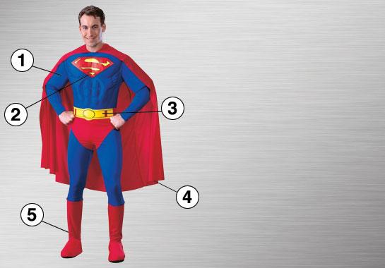 Superman Costume Essentials