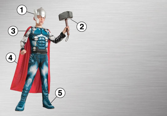 Thor Costume Essential Features