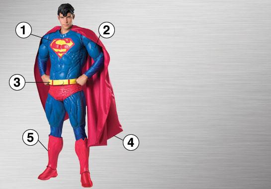 Superman Ultimate Costume