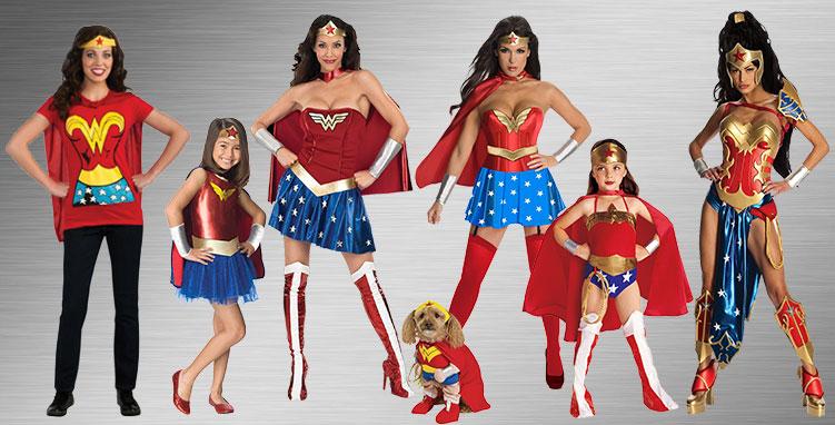 Wonder Woman Costumes