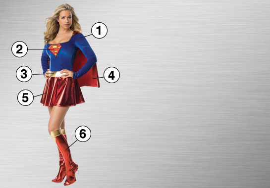 Supergirl Ultimate Costume