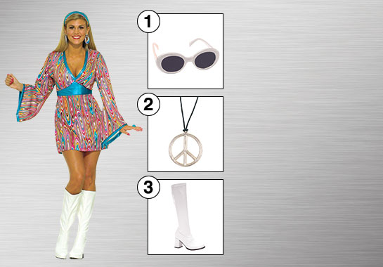 Enhance Your Style - 70's Woman
