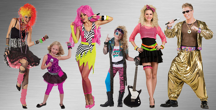 80's Musicians Group Costumes