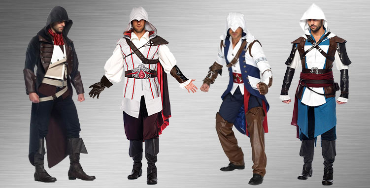 Assassins Creed Men's Group Costumes