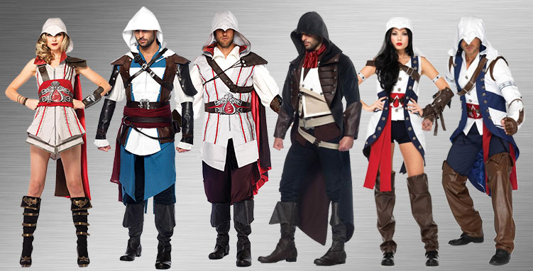 Assassin S Creed Costumes Halloween Costumes Buycostumes Com