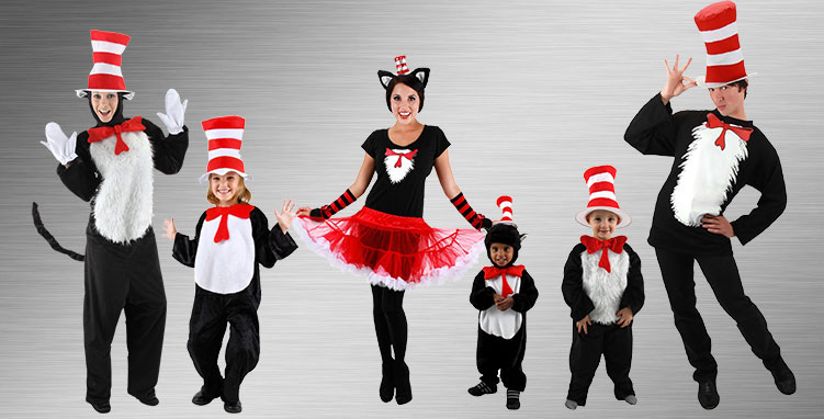 Cat in the Hat Group Costumes