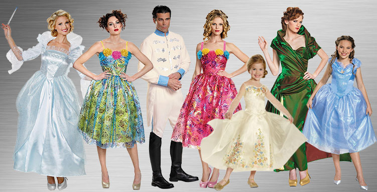 Cinderella Group Costumes